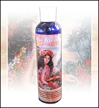 Maui Moisturizing Body Oil - The Hawaiian Love Oil!