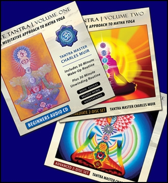 White Tantra Yoga Volumes 1-3 CD Collection